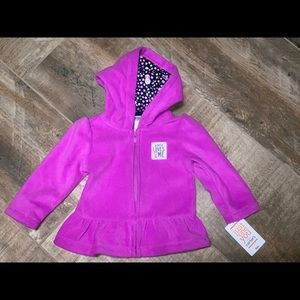 NWT Just one you by carters purple sweater size 6M